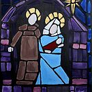 Nativity Stained Glass by gregwillits
