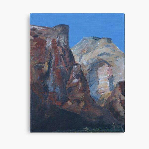Western Skyline Canvas Print