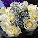White Roses by BlueMoonRose