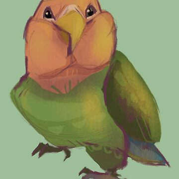 Lorel the Lovebird by SylarSushiCat
