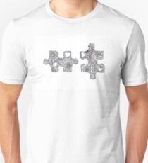 Love Puzzle Tangle Unisex T-Shirt