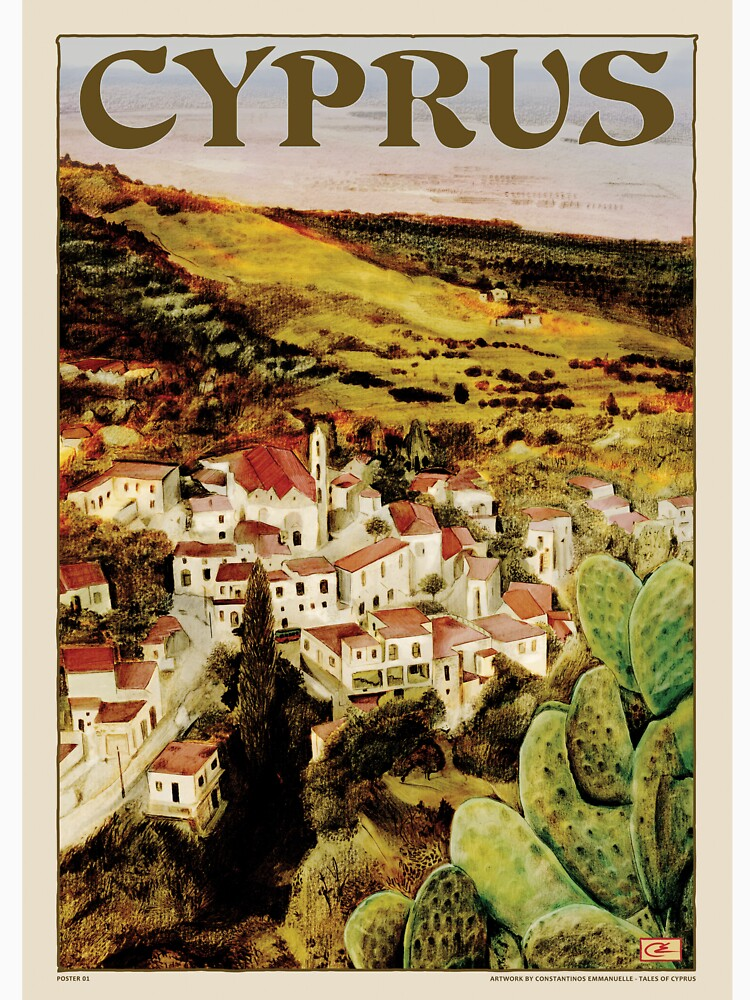 Risultati immagini per cyprus poster