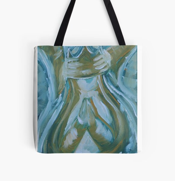 Coronation of Mary All Over Print Tote Bag