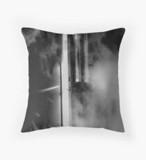 Doorway into the Fog Throw Pillow