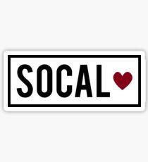 Socal ❤ Sticker