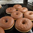Chocolate Ring Donuts by MidnightMelody