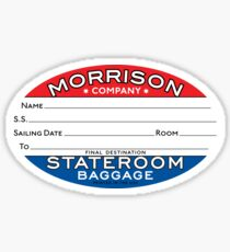 Morrison Co. Oval Label Sticker
