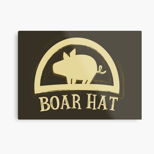 The Seven Deadly Sins (Boar Hat Sign) Metal Print