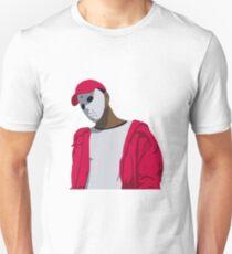 Ski Mask The Slump God Minimal Design Unisex T-Shirt