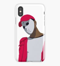 Ski Mask The Slump God Minimal Design iPhone Case