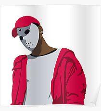 Ski Mask The Slump God Minimal Design Poster