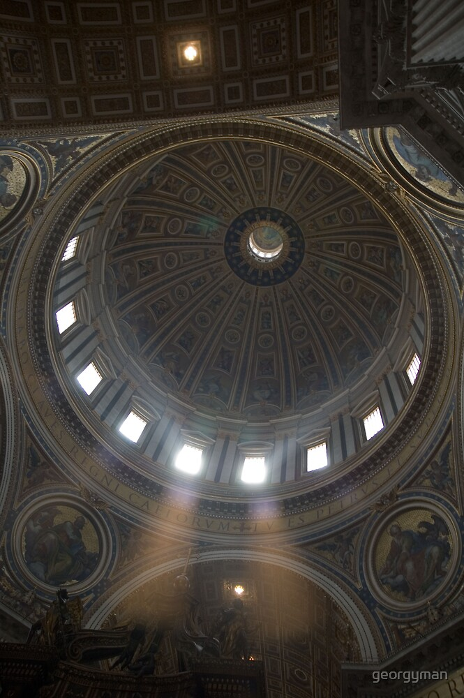 The Vatican Roof by georgyman