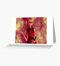 RubyRed Greeting Card