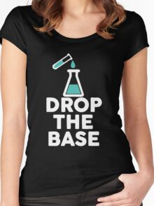 Drop The Base Chemistry Women's Fitted Scoop T-Shirt