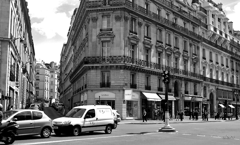 Paris Street by alexa