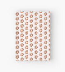 glazed donut Hardcover Journal