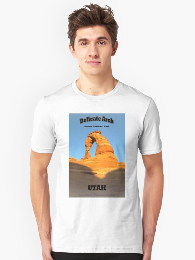 Delicate Arch Unisex T-Shirt Front