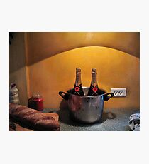 Still Life with Bread Photographic Print