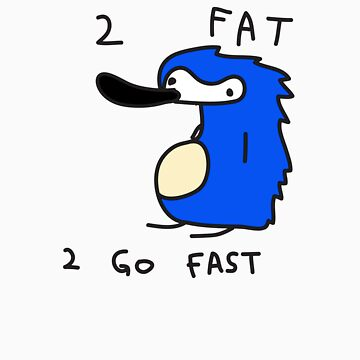 Sanic the Hegehog - 2 FAT 2 GO FAST by bywall