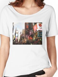 New York Time Women's Relaxed Fit T-Shirt