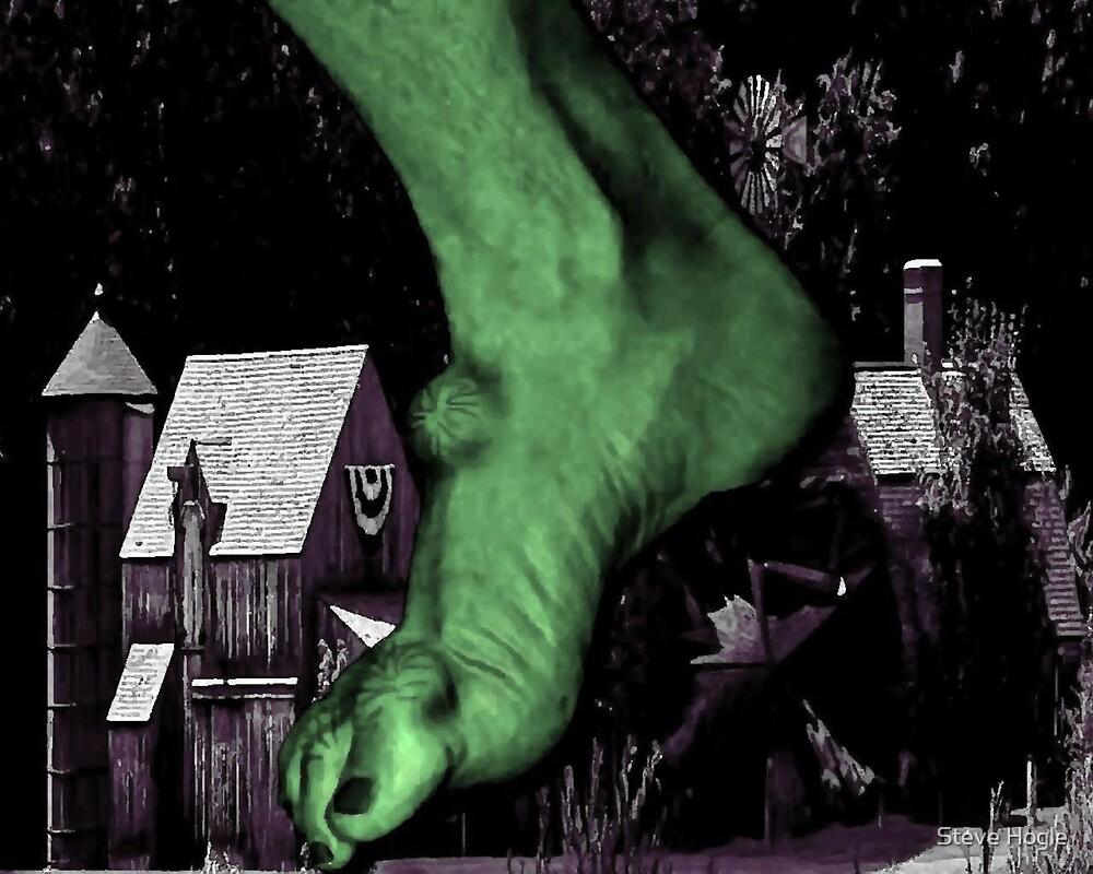 Villagers 0 Ogres 1 by Steve Hogle