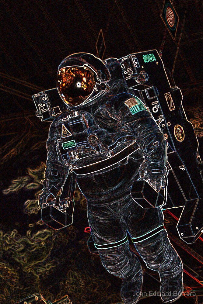 DJ Astronut by John Edward Barrera