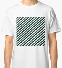 Team Colors....green, black white Classic T-Shirt