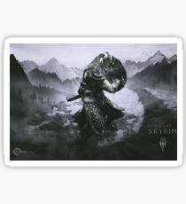 Skyrim - The Dragonborn Sticker