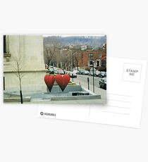Two Heart City Postcards
