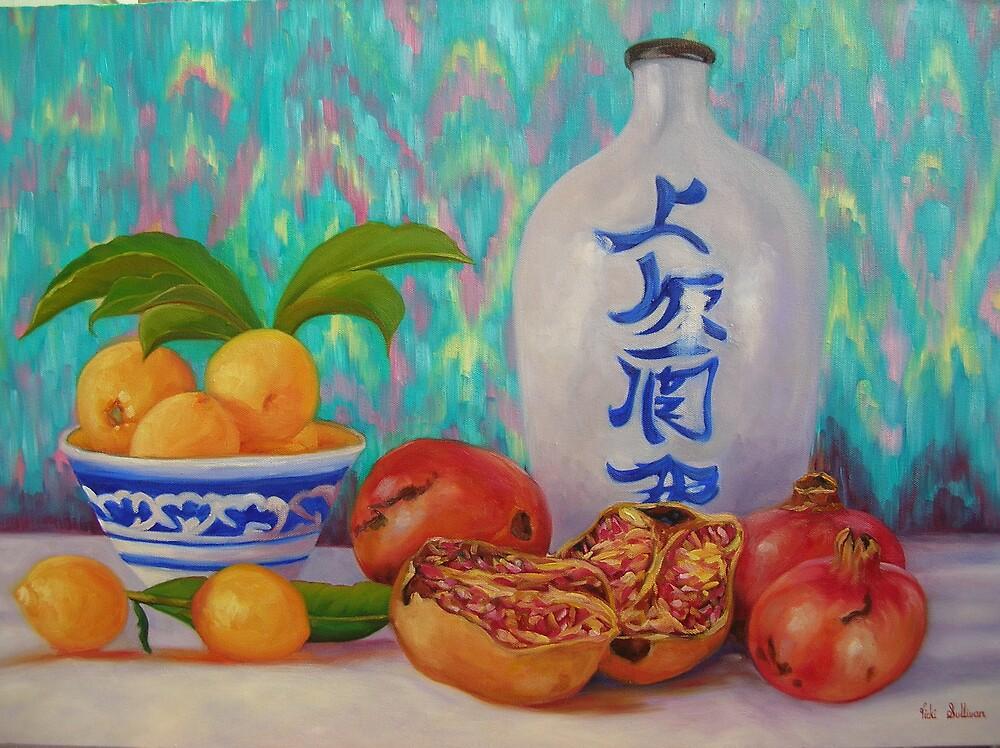 Pomegranate's and Lemons by avocado