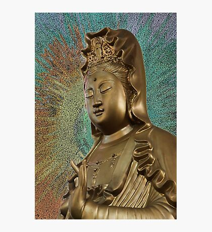 Quan Am, Vietnamese Buddhist Goddess of Mercy and Compassion  Photographic Print