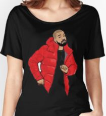 drake Cartoon Women's Relaxed Fit T-Shirt
