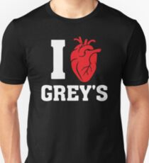 I Love Greys T-Shirt