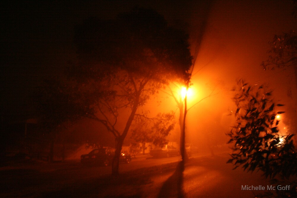Foggy Night by Michelle Mc Goff