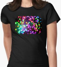 Bubbles 3 Womens Fitted T-Shirt