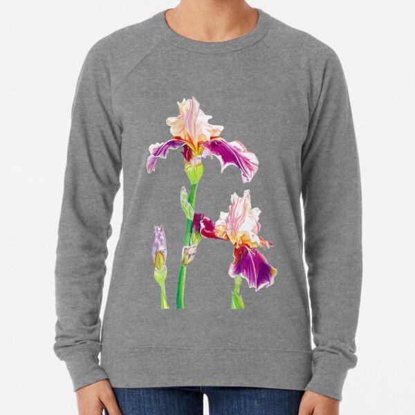 Bearded Iris Lightweight Sweatshirt