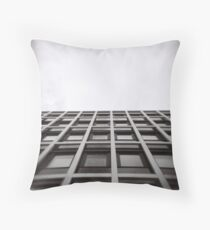 Wall and Sky Throw Pillow