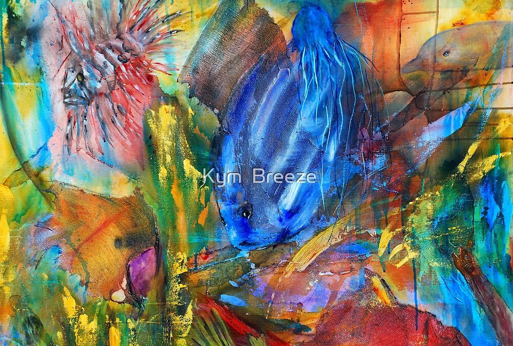 tropical Reef by Kym  Breeze