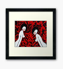 Conforming- Who Us? Framed Print
