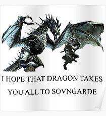 Skyrim - Sonvgarde  Poster