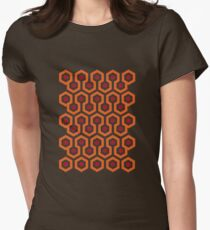 Overlook Hotel Carpet (The Shining)  Women's Fitted T-Shirt