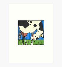 Cow I Art Print