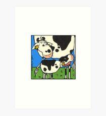 Cow II Art Print