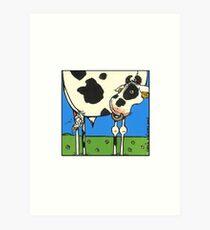 Bull I Art Print