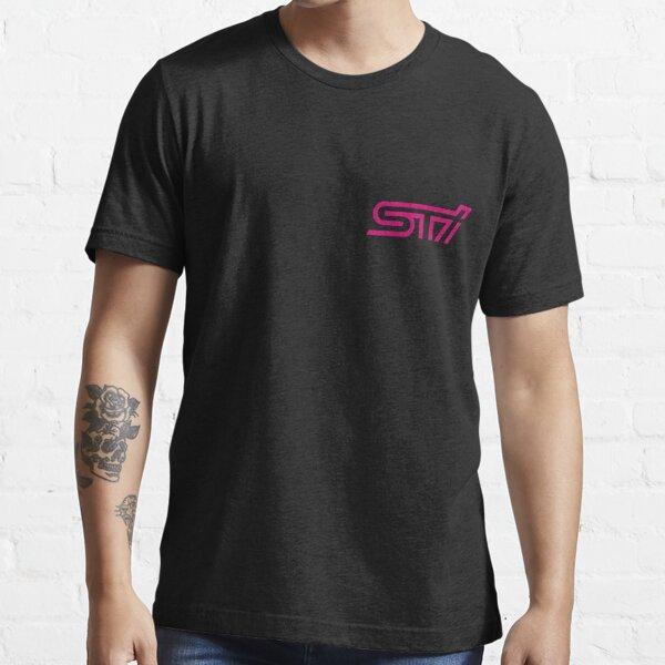 STI - Subaru Technica International Pink Logo Essential T-Shirt