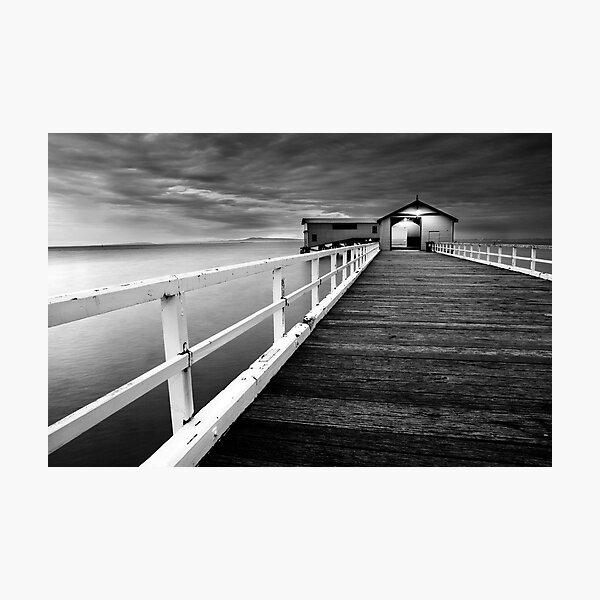 Queenscliff Pier Photographic Print