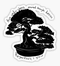 Bonsai Sticker