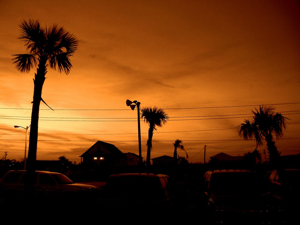 Supper at Sunset by J Avary Vox