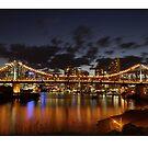 Story Bridge Sunset by Paul Cotelli