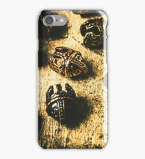 Ancient battlefield armour iPhone Case/Skin